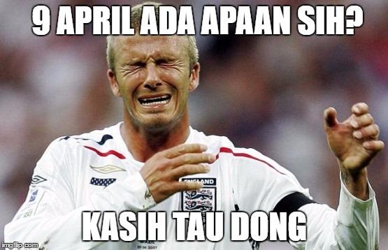"""Pemenang Lomba Meme """"Menantikan 9 April"""""""
