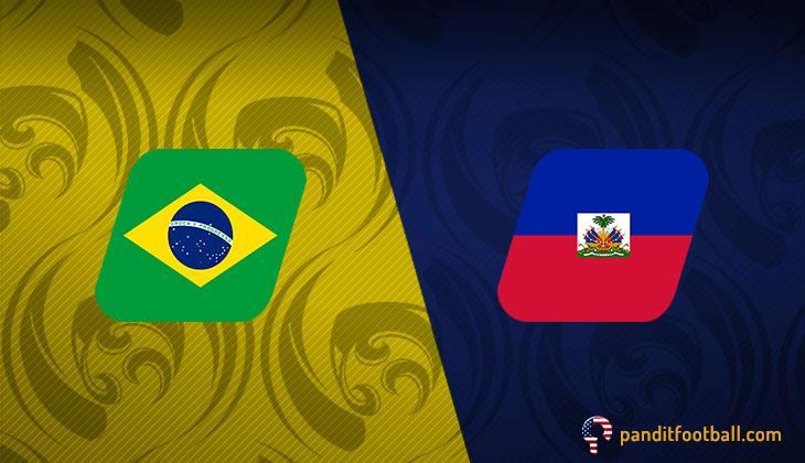 Brasil Mengamuk, Gasak Haiti 7-1