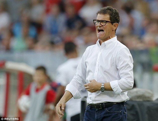 Fabio Capello sewaktu melatih Kesebelasan Negara Rusia