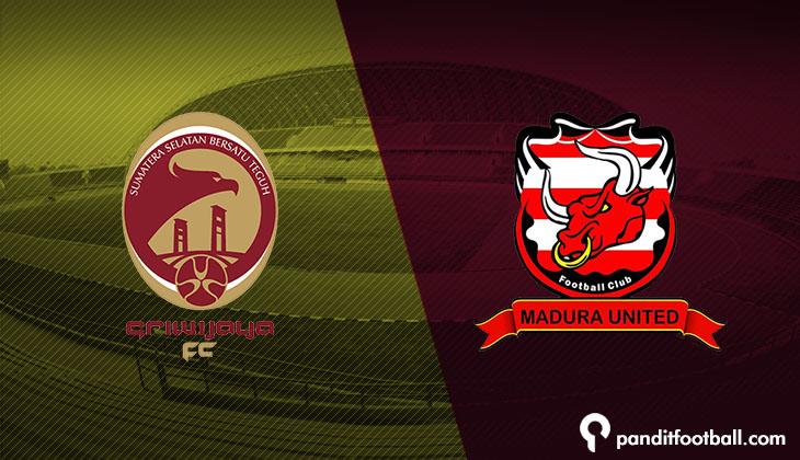 Serangan Balik Sriwijaya FC Hancurkan Madura United Lima Gol Tanpa Balas