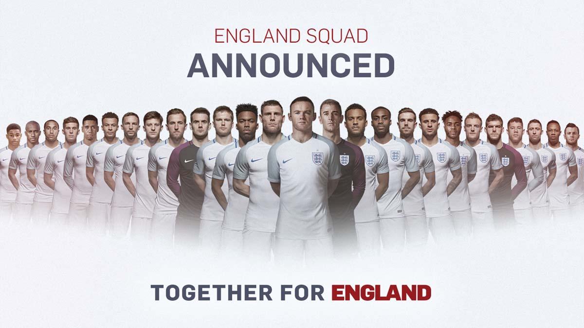 Skuat Bayangan Inggris untuk Piala Eropa 2016 Diumumkan, Nama Rashford Tercantum