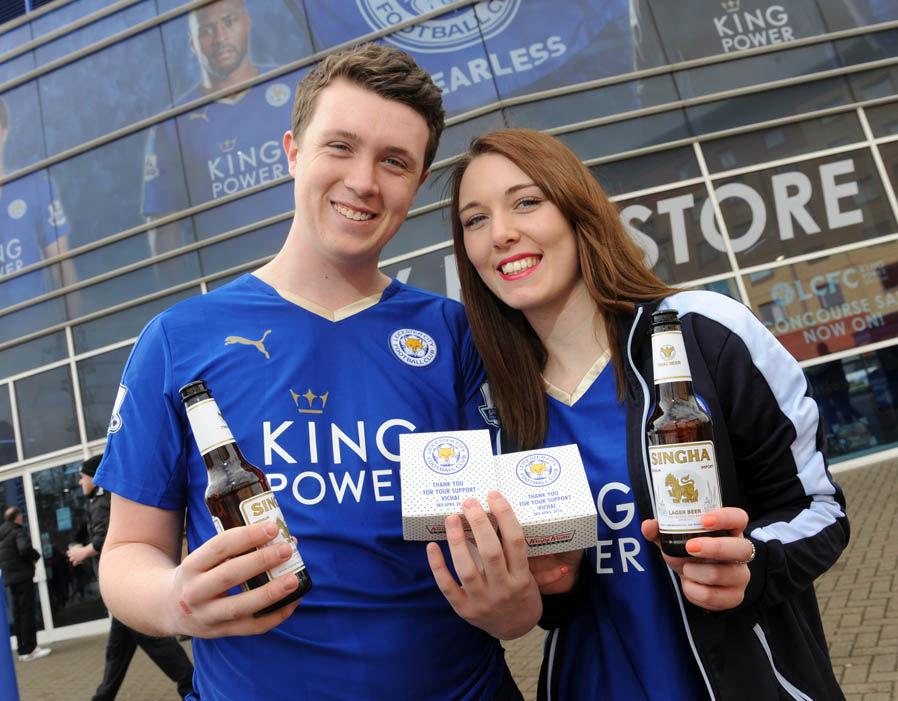 Rayakan Juara, Pendukung Leicester City Dilarang Nonton Bareng di Stadion