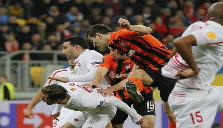 Skor 2-2 Ketiga Antara Shakthar dan Sevilla
