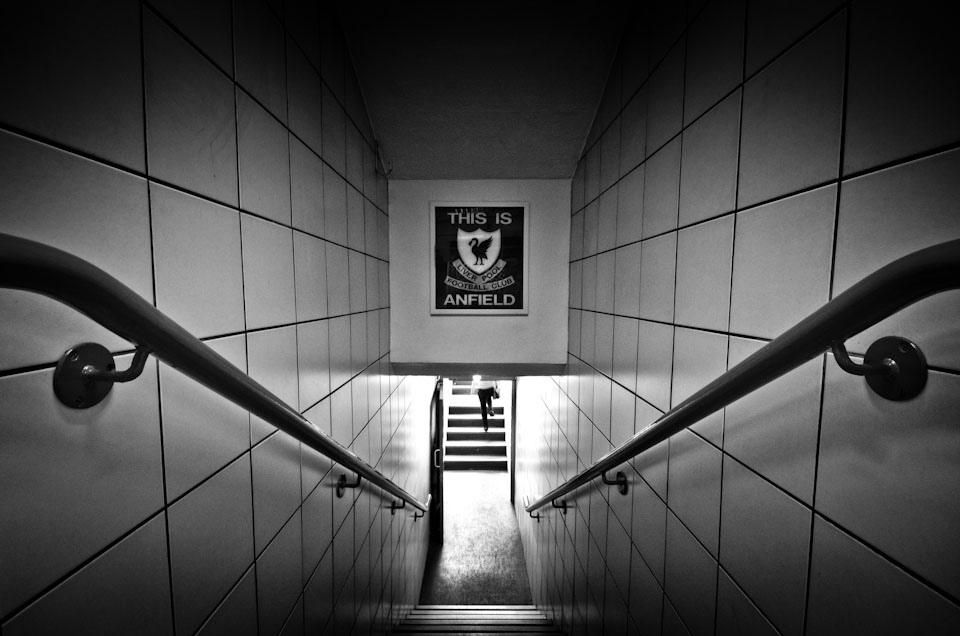 Klopp Larang Pemain Liverpool Sentuh `This Is Anfield`
