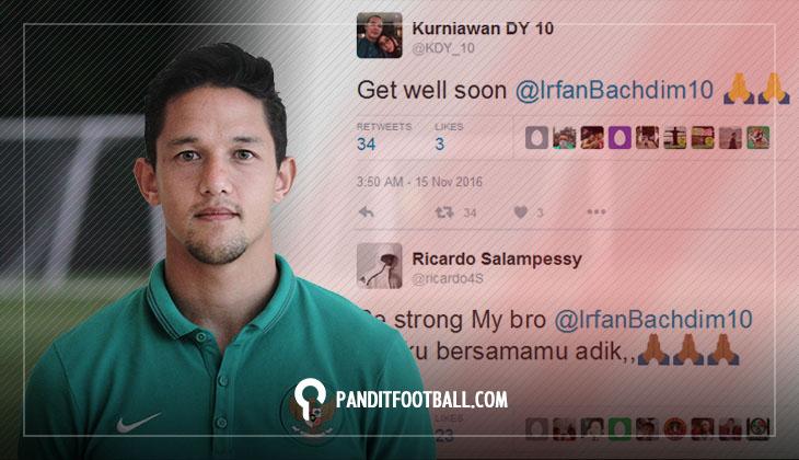 Irfan Bachdim Dipastikan Tidak Tampil di Piala AFF 2016 Karena Cedera