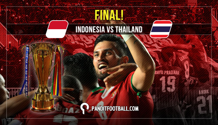 Live Blog Final Piala AFF 2016: Indonesia vs Thailand