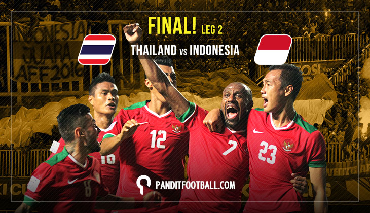 Live Blog Piala AFF 2016: Thailand vs Indonesia