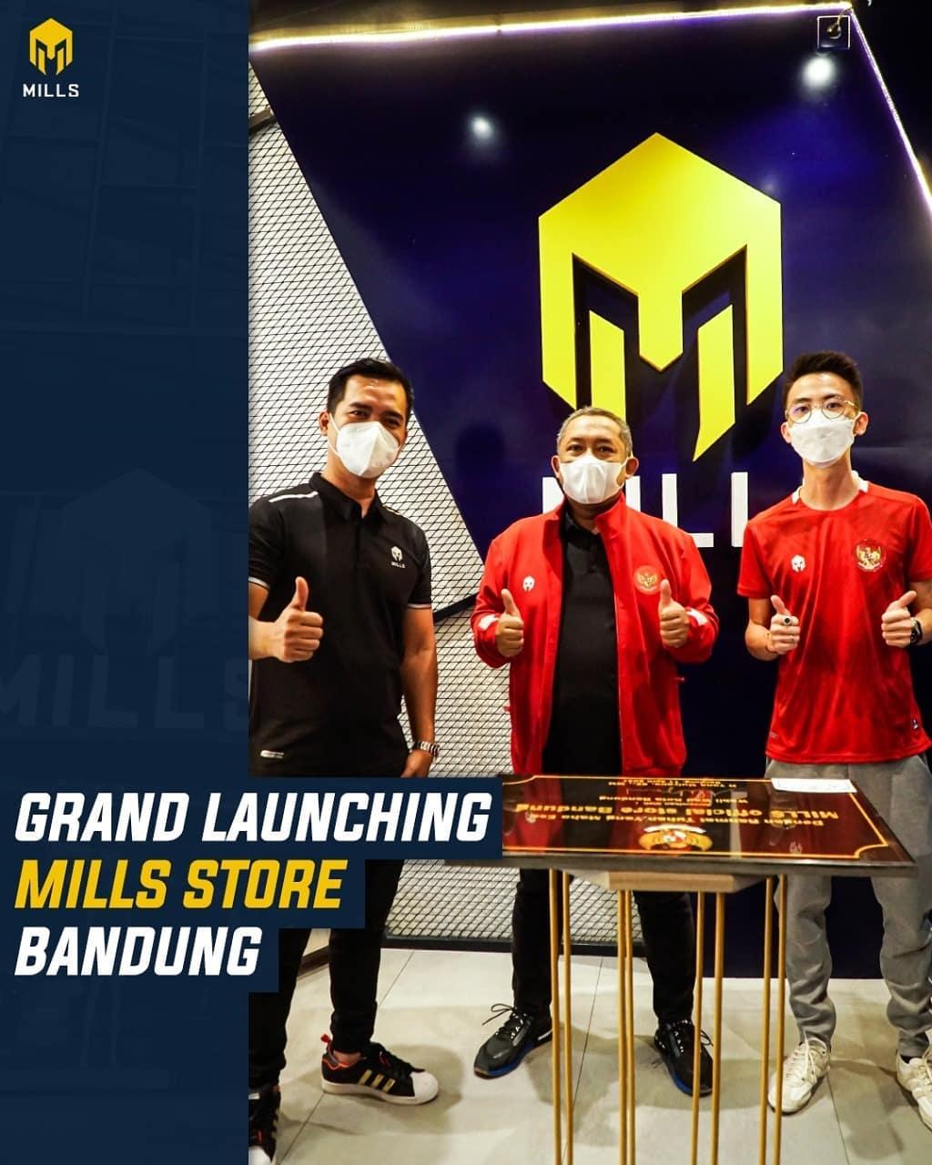 Mills Merambah Bandung, Gudangnya Fans Bola dan Anak Muda Kreatif: Industri Olahraga Bergerak Pulih Lewati Pandemi