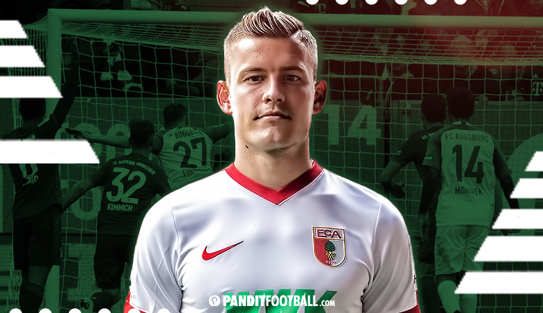 Milestone 100 Pertandingan Alfred Finnbogason di FC Augsburg