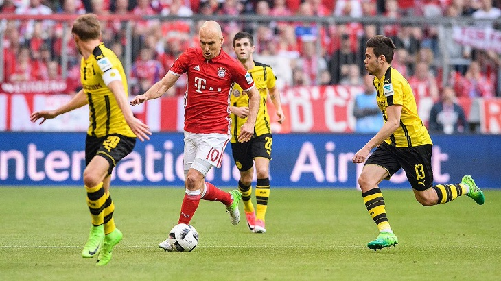Peran Maksimal Robben dalam Kemenangan Bayern atas Dortmund