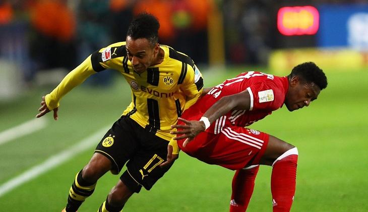 Adu Winger Andal Dalam Laga Bayern vs Dortmund