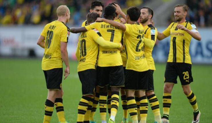 Borussia Dortmund yang Bertahan dengan Menekan Setinggi-Tingginya