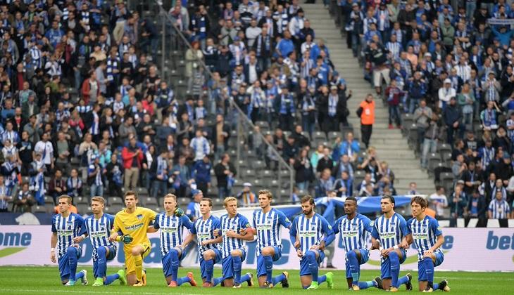 Sebentuk Dukungan dari Hertha Berlin