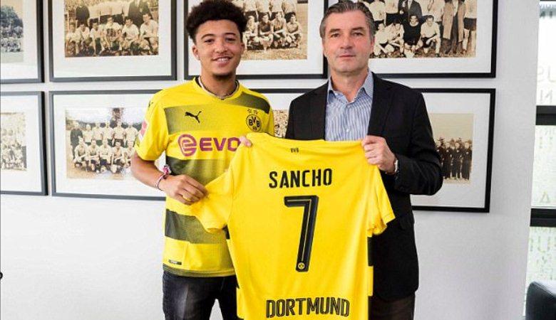 Jadon Sancho: Mengenal Miniatur Cristiano Ronaldo Rekrutan Dortmund