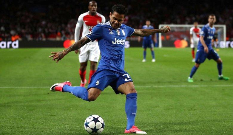 Peran Penting Daniel Alves dalam Keberhasilan Juventus Taklukkan Monaco