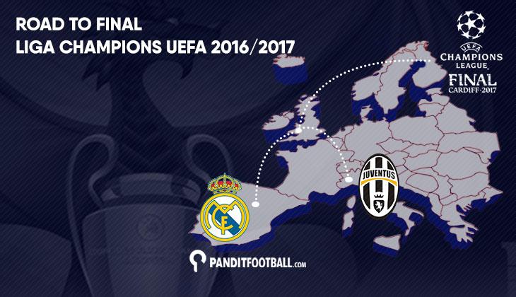 Perjalanan Panjang Juventus dan Real Madrid Menuju Cardiff
