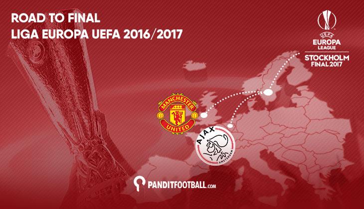 Jalan Berliku Ajax dan Man United Menuju Final Liga Europa