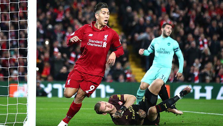 Liverpool vs Arsenal: Arsenal Kerdil di Anfield