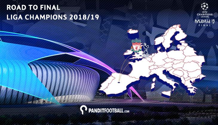 Perjalanan Panjang Spurs dan Liverpool Menuju Final Liga Champions 2018/19