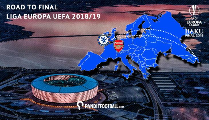 Perjalanan Chelsea dan Arsenal Menuju Final Liga Europa