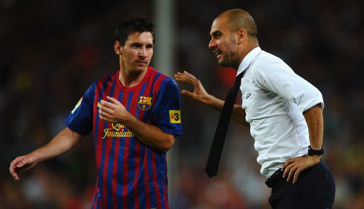 Pujian Guardiola untuk Lionel Messi