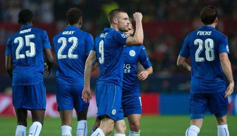 Satu Gol Jamie Vardy Jaga Asa Leicester City di Liga Champions
