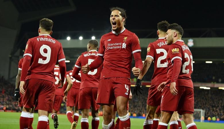 Debut di Derbi Merseyside, Van Dijk Langsung Cetak Gol Kemenangan Liverpool