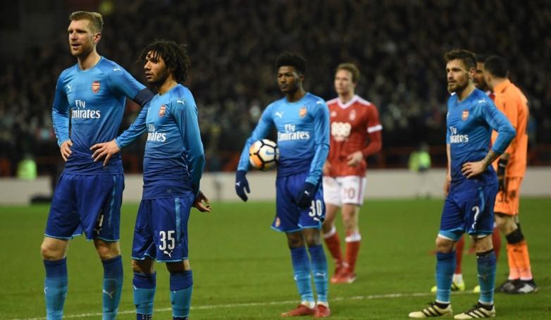 Arsenal Disingkirkan Forest di Piala FA, Wenger Salahkan Para Pemainnya