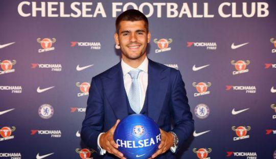 Chelsea Resmikan Transfer Alvaro Morata