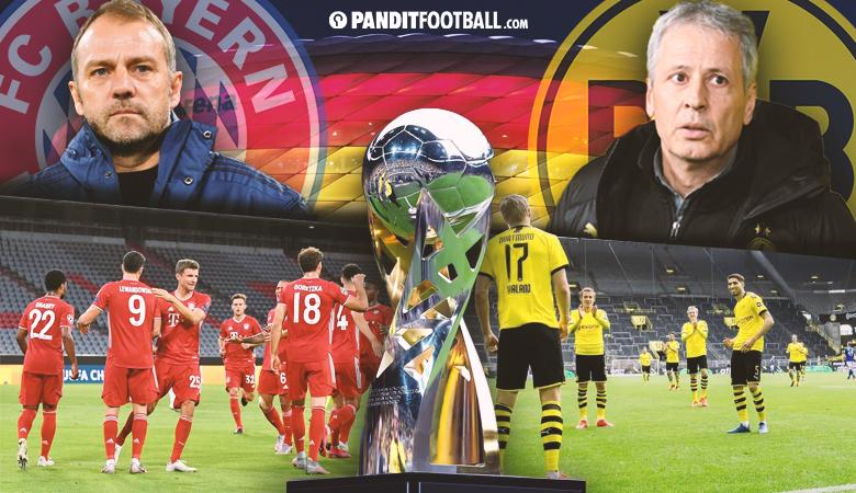 Link Live Streaming Piala Super Jerman Bayern Munchen vs Borussia Dortmund