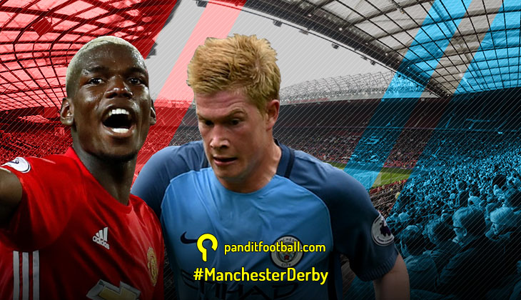 Pratinjau Manchester Derby: Absennya Aguero Buat Manchester Merah Diunggulkan