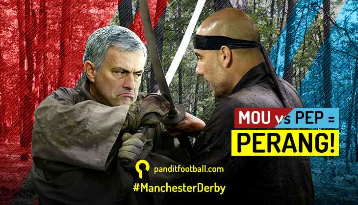 Mou vs Pep adalah Perang!