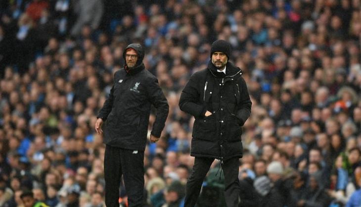 Perbedaan Emosi Klopp dan Pep Usai Laga City vs Liverpool