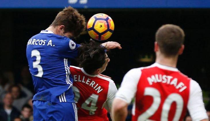 Cerminan Perbedaan Mentalitas Chelsea dan Arsenal pada Kejadian Sikutan Alonso kepada Bellerin