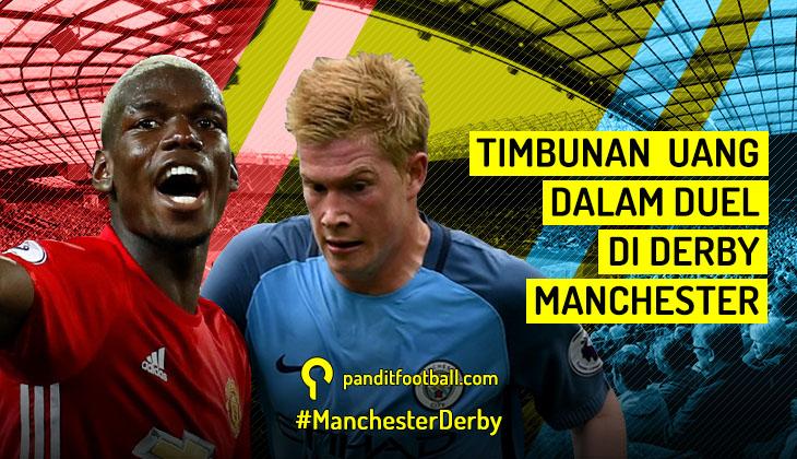 Timbunan Uang dalam Duel di Derby Manchester