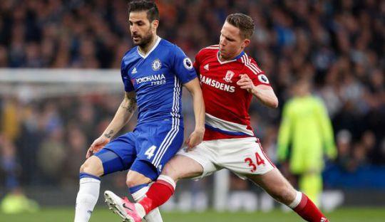 Chelsea Selangkah Lagi Juara, Middlesbrough Terdegradasi