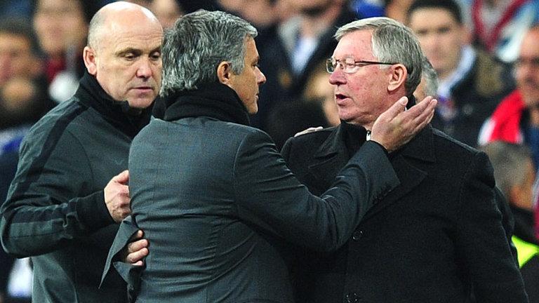 Sir Alex Ferguson Puji Jose Mourinho