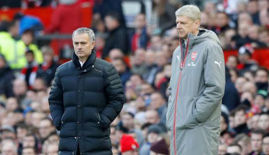 Komentar Mourinho untuk Wenger Jelang Arsenal vs MU