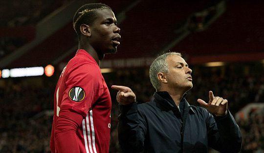 Mourinho Sebut Pogba Calon Kapten Manchester United