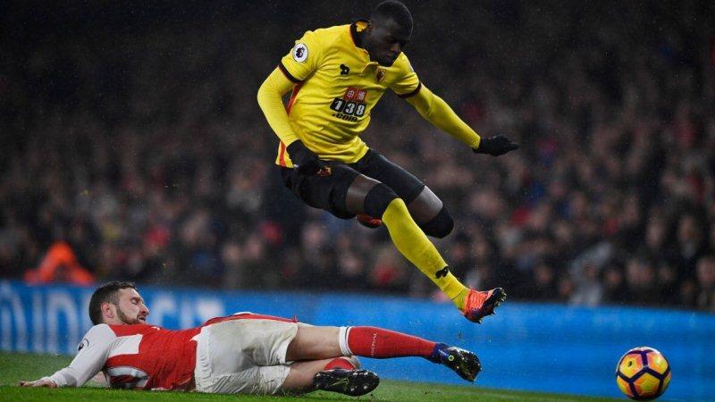 Tolak Kembali ke Watford, Niang Digoda Everton dan Arsenal