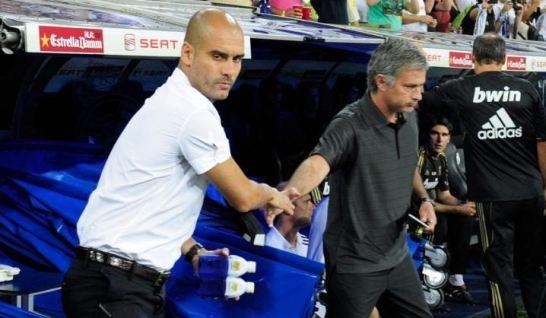 Adu Mulut Jose Mourinho dan Pep Guardiola