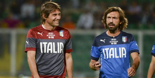 Conte Ingin Kerja Sama dengan Pirlo di Chelsea