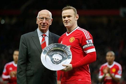 Sir Bobby Charlton Kecewa Sekaligus Senang Rekornya Dipecahkan Rooney