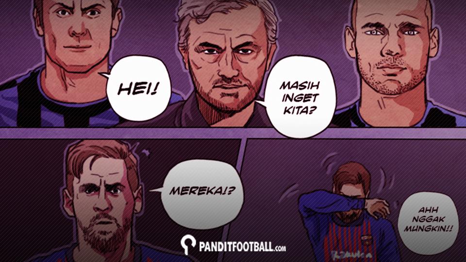 Komik: Kenangan Parkir Bus Di Stadion Camp Nou