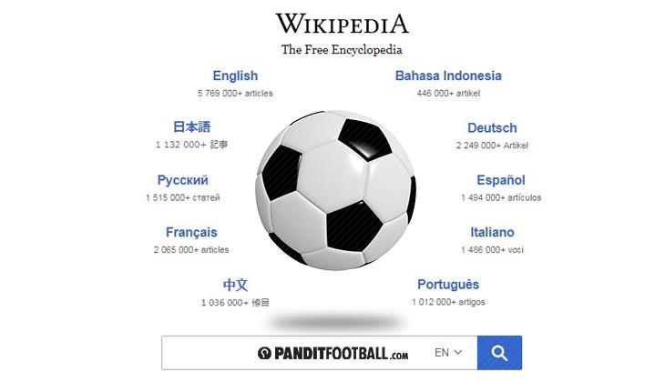 Melihat Sepakbola dari Wikipedia