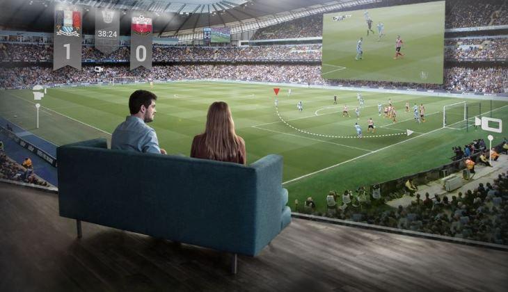 Hadir di Tribun Stadion Melalui VR