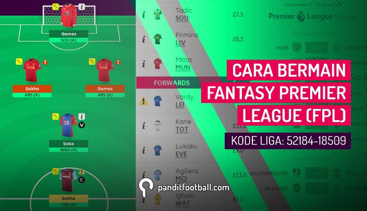 Cara Bermain Fantasy Premier League (FPL)