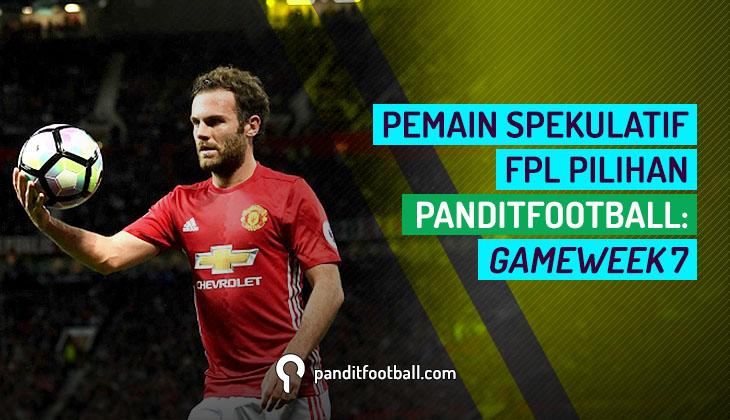 Pemain Spekulatif FPL Pilihan PanditFootball: Gameweek 7