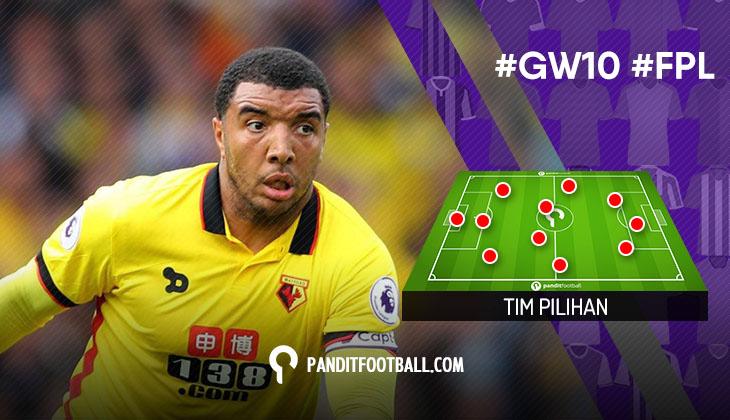 Pemain FPL Pilihan PanditFootball: Gameweek 10