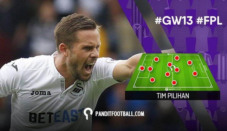 Tim Pilihan PanditFootball: Gameweek 13